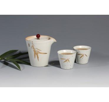 平安竹茶具組