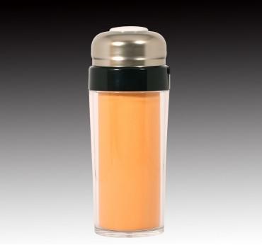 柿橙釉隔熱杯