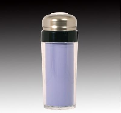 茄紫釉隔熱杯