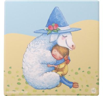 幾米擁抱吸水杯墊-羊