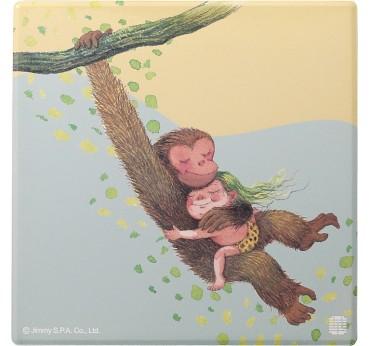 幾米擁抱吸水杯墊-猴