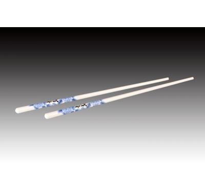 鋯石瓷筷-青花牡丹